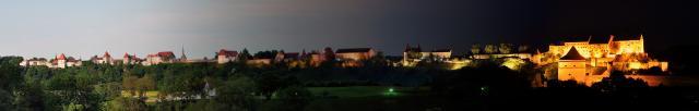 Burghauser Burg Panorama