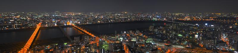 HDR Panorama Osaka 1