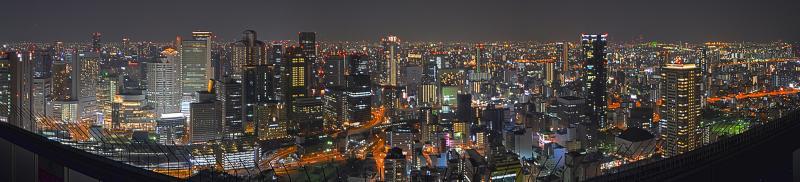 HDR Panorama Osaka 2