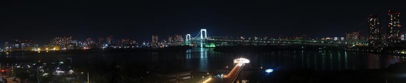 Skyline Tokyo bei Nacht