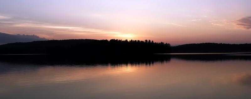 Sonnenuntergang im Algonquin Park (HDR)