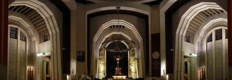 Panorama im Inneren der Basilika