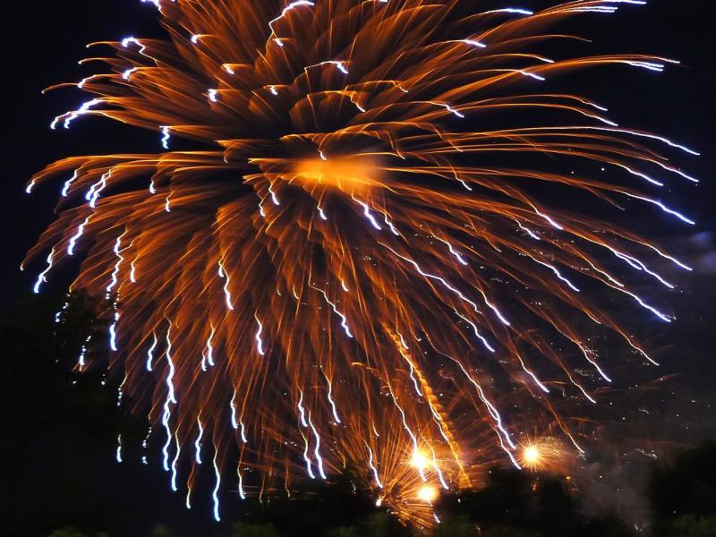 Spektakuläres Feuerwerk schließt den Canada Day ab