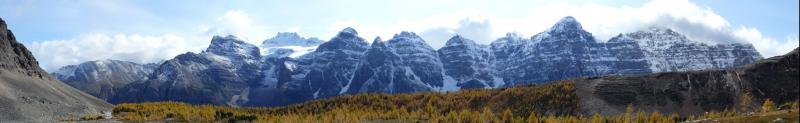 Das Tal der Lärchen und die 10 Gipfel