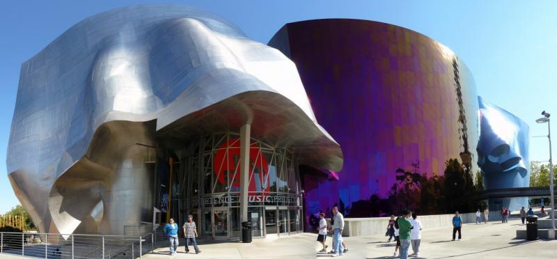 Das von Gehry designte Experience Music Project