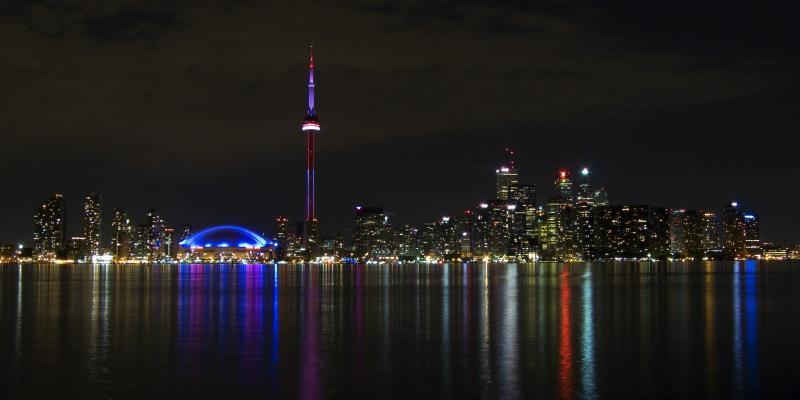 Toronto - Skyline bei Nacht