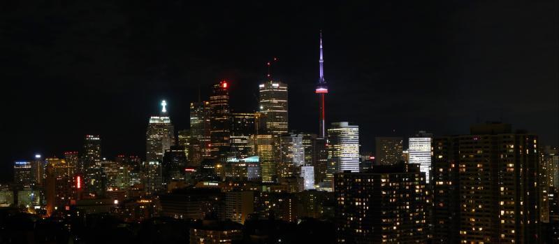 Blick vom Balkon meiner Wohnung