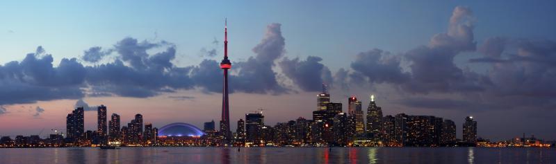 Torontos beste Sicht auf die Skyline