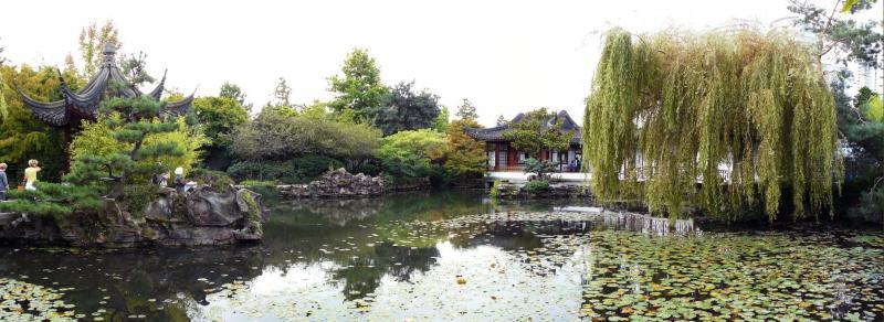 Chinesischer Garten in Chinatown
