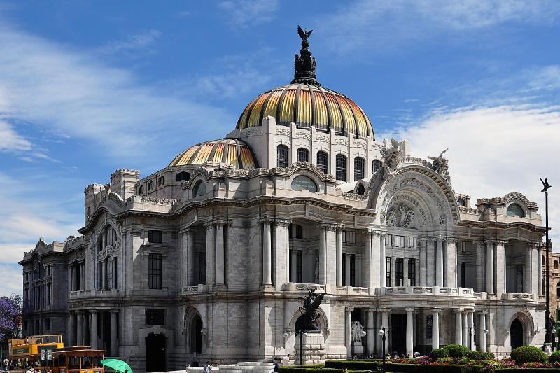Der Palast der schönen Künste