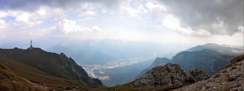 Auf dem Bucegi Gebirge