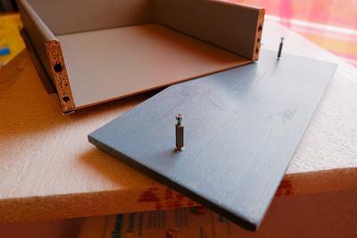 Zusammenbau der Schubladen