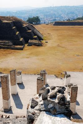 Die Ruinen von Tula