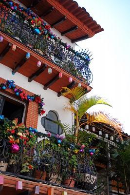 Häuschen in der Silberstadt Taxco