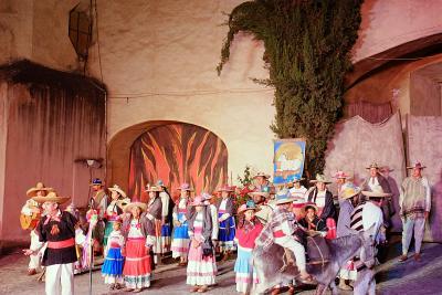 Pastorela 2014 in Tepozotlán