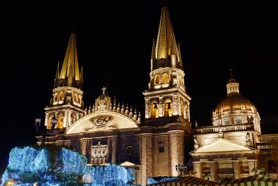 Die Kathedrale von Guadalajara