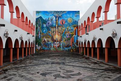 "In der Cuervo-Destillerie ""La Rojeña"""