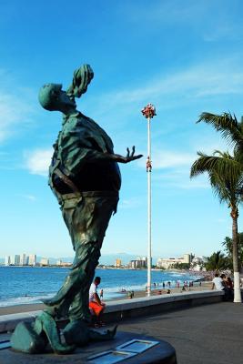 Am Malecón von Puerto Vallarta