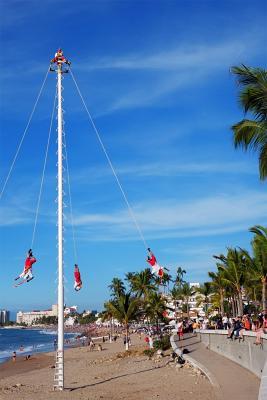 Voladores in Puerto Vallarta