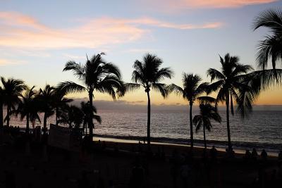 Sonnenuntergang in Vallarta