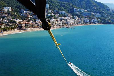 Parasailing in Vallarta