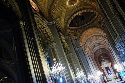 In der Kathedrale von Morelia