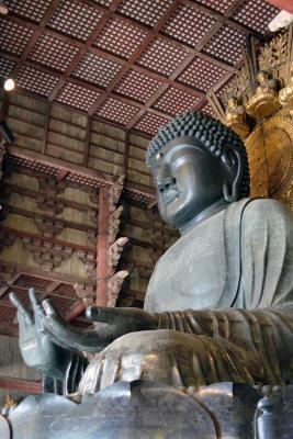 Riesiger Buddha im Todai-Ji in Nara