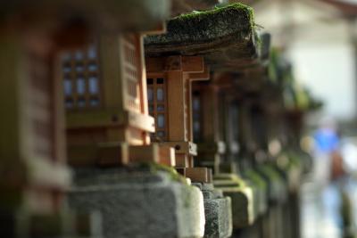 Laternen im Park von Nara