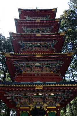 Pagode des Toshogu-Schreins in Nikko