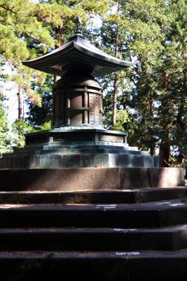 Das Mausoleum des Shoguns Tokugawa Ieyasu