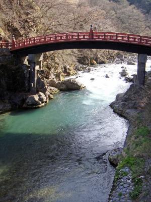 Shinkyo-Brücke in Nikko