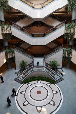 Das hervorragende Shanghai Museum