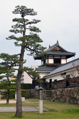 Beim Schloss Hiroshima