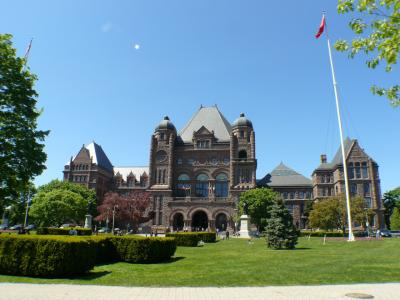 Sitz des Parlaments von Ontario