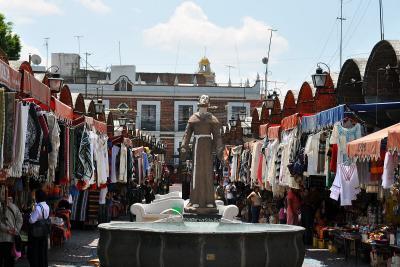 Handwerksmarkt Parián in Puebla
