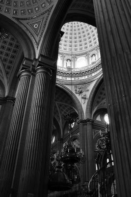 In der Kathedrale von Puebla