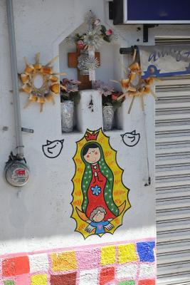 Niedliche Jungfrau von Guadalupe