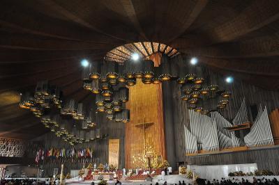 Die neue Basilika von Guadalupe