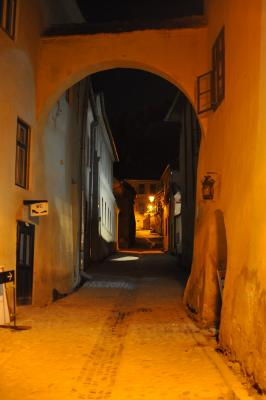 Sighișoara bei Nacht [2]