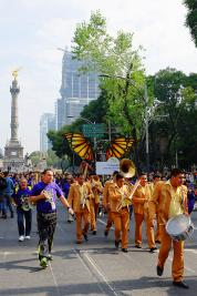 Musikgruppe in Alebrije Parade 2014